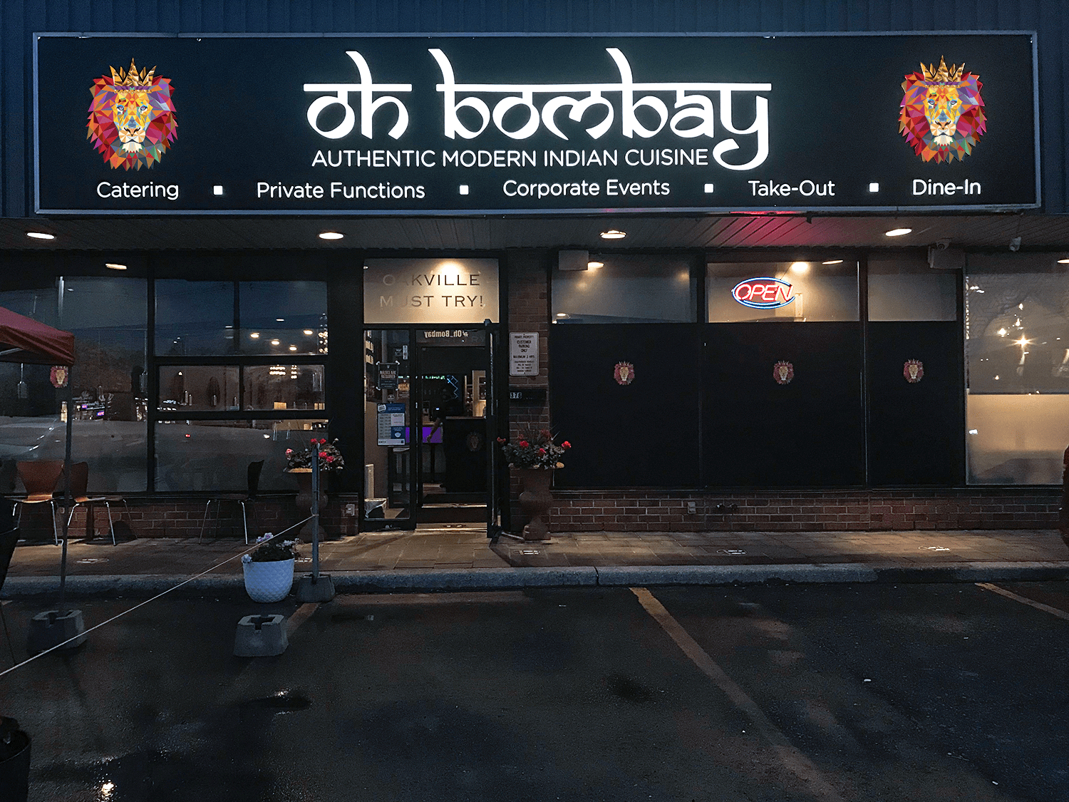Exterior View - Oh Bombay