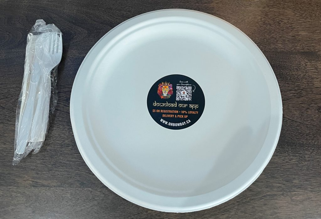 Place Settings - Oh Bombay