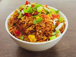 Chicken Fried Rice - Oh Bombay